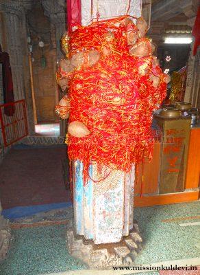 Adhar Stambh in Dadhimati Mata Temple, Goth-Manglod (Nagaur)